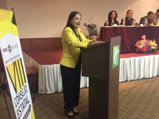 El PRD debe establecer estrategias para no perder el voto: Verónica Juárez Piña