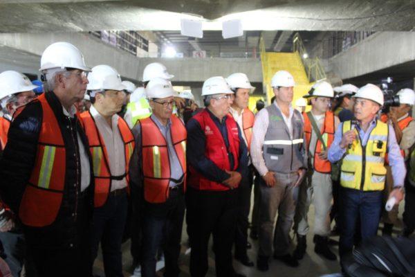 Tuneladora terminará trabajos de la L3 en marzo