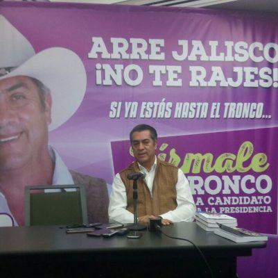 """La ley es """"gacha"""" con los ciudadanos: Jaime Rodríguez """"Bronco"""""""
