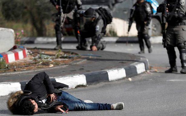 El Ejército israelí disparó contra manifestantes palestinos