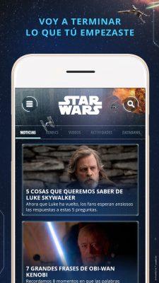 Lanzan nueva aplicación de Star Wars