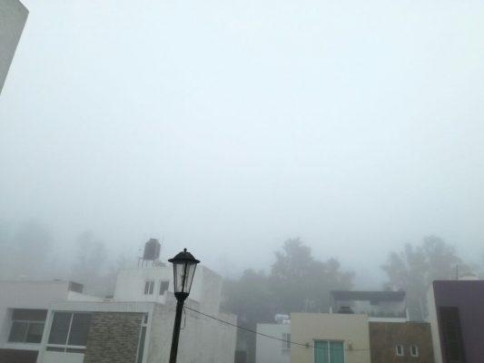 Tercera tormenta invernal registra densa neblina en la ZMG