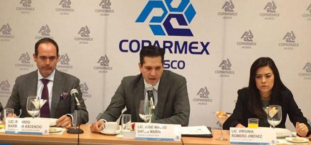 Urge combatir corrupción e impunidad: Coparmex Jalisco