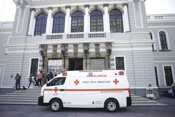 Más de 180 mil servicios brindados por Cruz Roja Jalisco