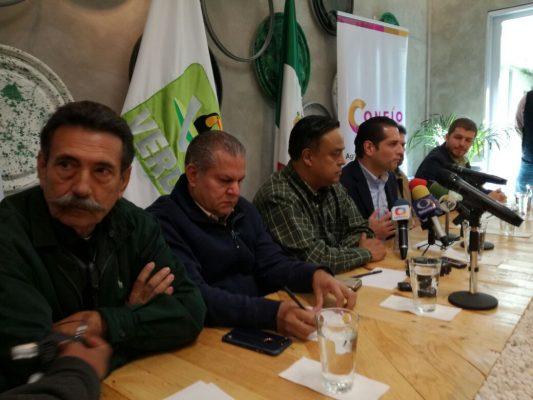 Cierran filas PVEM y Agrupación Confío en México para el proceso electoral 2018
