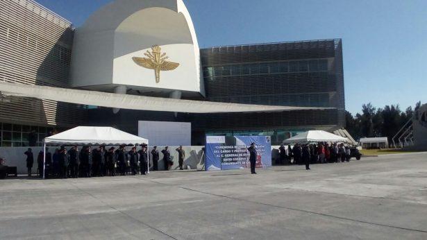 Jubilan en Jalisco al titular de la Fuerza Aérea Mexicana