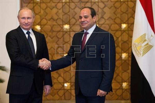 Firma Egipto y Rusia acuerdo para fabricar planta nuclear