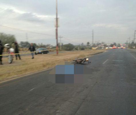 Mueren atropellados dos motociclistas en El Salto