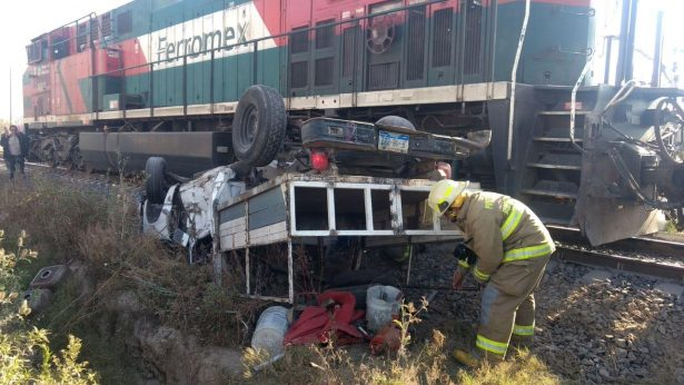 Cuatro accidentes de tren en 24 horas en Jalisco