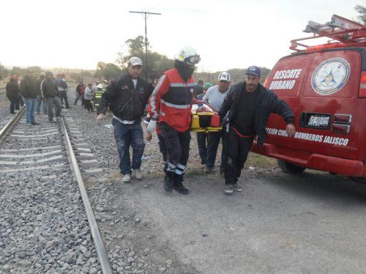 El quinto choque contra el tren en menos de una semana ocurrió en Encarnación de Díaz