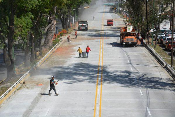 Se acabó el martirio, abren carriles centrales de López Mateos