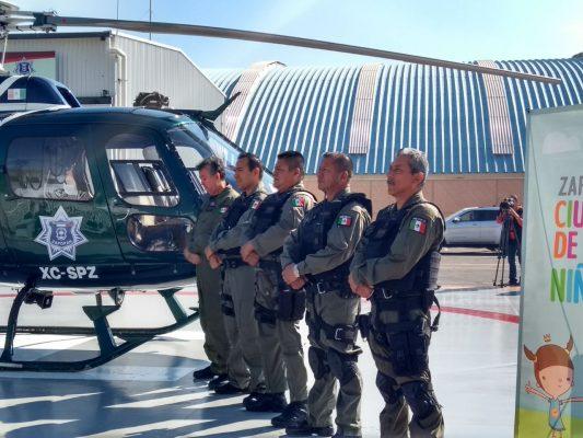 Inauguran Helipuerto en Zapopan y destacan reducción de delitos