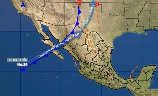Seguirán bajas temperaturas en gran parte del país: SMN