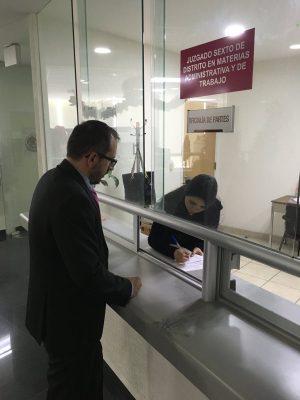 Gabriel Valencia desistió del amparo contra designación del fiscal anticorrupción