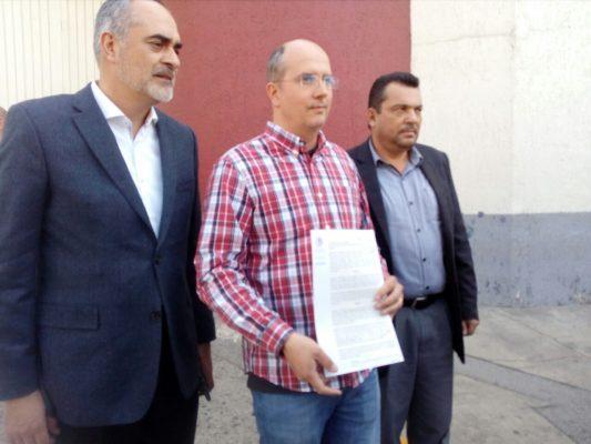Presenta denuncia diputado de MC contra Ejecutivo