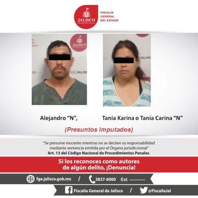Capturan a pareja por abuso sexual infantil de su hija de 5 años