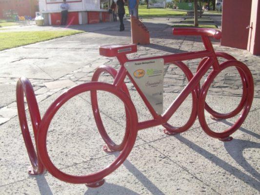 Instalan ciclopuertos en Zapopan