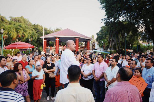 Visita EAR costa de Jalisco y recuerda a emecista asesinado