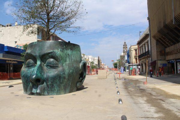 El paseo Fray Antonio Alcalde que lleva un avance del 40%, será el más grande del país: SIOP