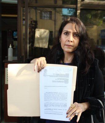 Presenta Diana Arredondo queja ante CEDH por violencia política