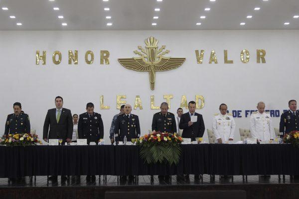 Celebran Día de la Fuerza Aérea Mexicana en la base militar de Zapopan