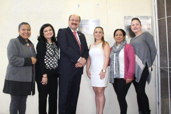 Devela ISSSTE Jalisco placa conmemorativa por el 40 Aniversario de la Estancia Infantil