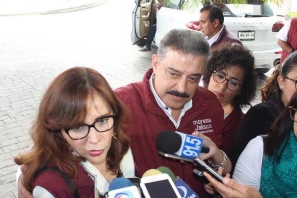 Oficializa Lomelí candidatura a Jalisco por MORENA
