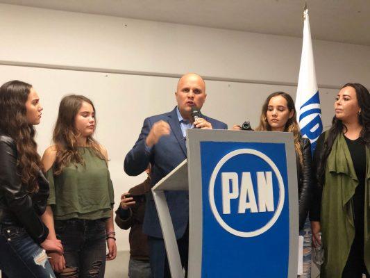 José Antonio de La Torre se registra como precandidato del PAN a la presidencia municipal de Zapopan