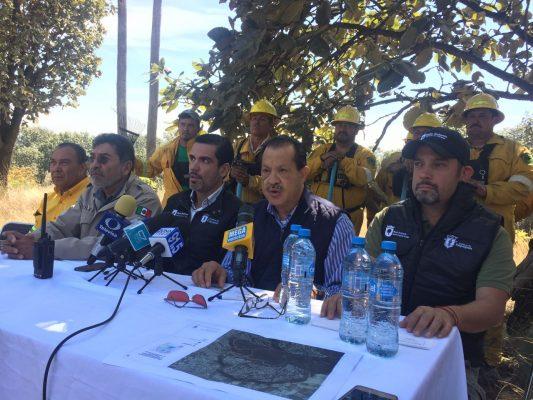 Alto riesgo de incendios este año en Jalisco, advierte Conafor