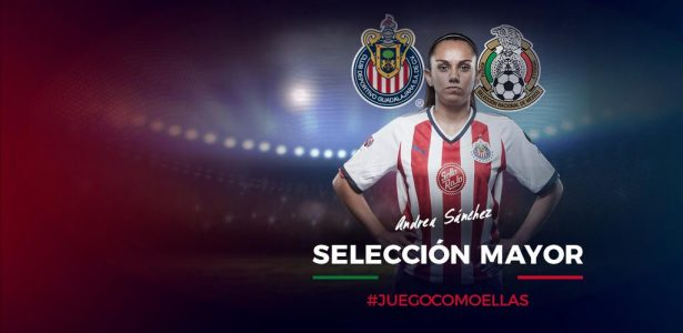 Andrea Sánchez, de Chivas, rumbo a la Selección