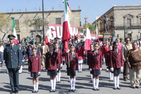 [Galería] Unión, respeto, solidaridad, símbolos de la Bandera mexicana