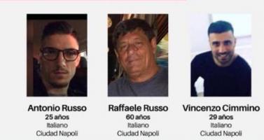 SEIDO podría atraer caso de italianos desaparecidos