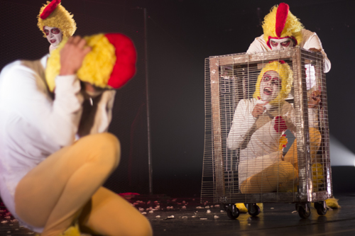 """Inician los Jueves de Teatro con """"Las lagañas de Oetl"""""""