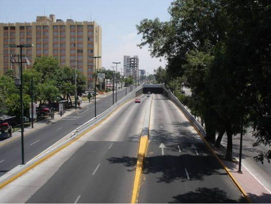 Cruzar López Mateos alerta para peatones