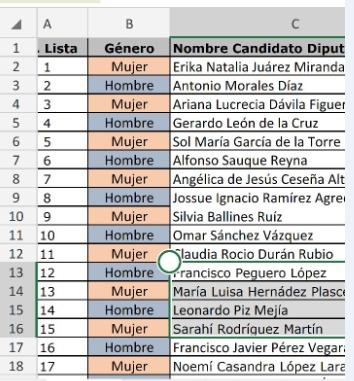 "Encabeza secretaria general del PRD Natalia Juárez Miranda la lista de ""pluris"""