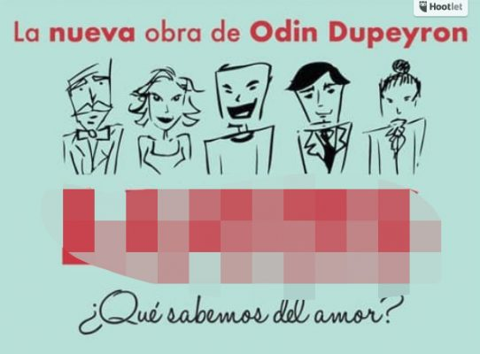 Odin Dupeyron regresa al Teatro Diana