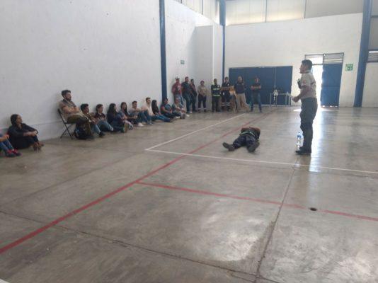 Reciben capacitación brigadistas de CULagos y Protección Civil