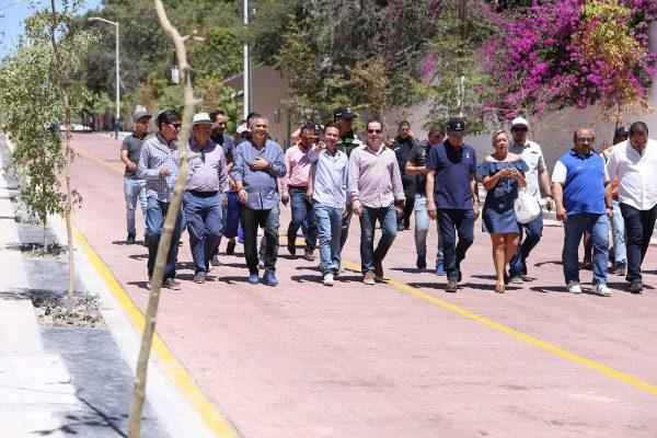 Renuevan calle Eva Briseño en Zapopan