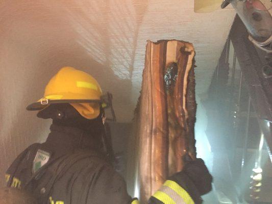 Arde habitación de un motel de Guadalajara