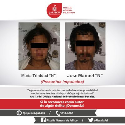 Vinculan a proceso a pareja por delito de prostitución infantil
