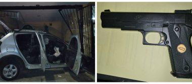 Policías de Guadalajara recuperaron vehículo robado y detuvieron a dos
