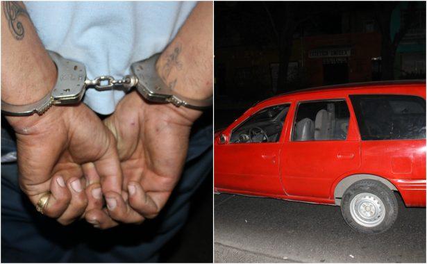 Consignan ante el MP a un hombre que conducía un coche robado
