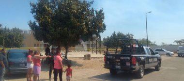 Abandonan otro cadáver en cancha de basquetbol en Tlajomulco