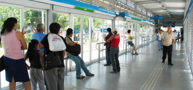 Macrobús suspende el servicio en la estación López de Legazpi por obras del SIAPA