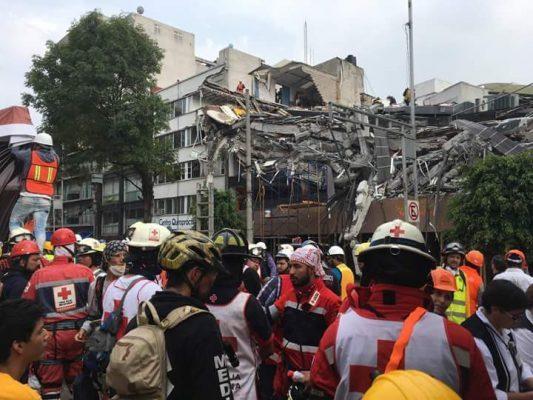 Capacitan a Bomberos de Gdl y Cruz Roja en rescate en estructuras colapsadas
