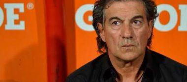 Rubén Romano molesto con el arbitraje
