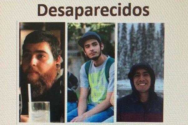 Activan búsqueda de los tres estudiantes desaparecidos en Tonalá