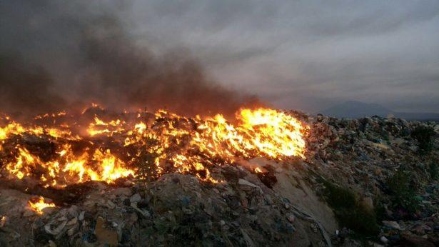 Incendio en Tala por negligencia
