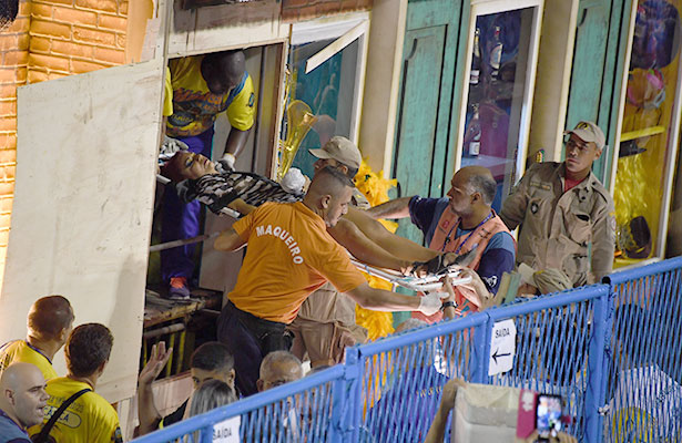 Segundo accidente asesta duro golpe al Carnaval de Rio de Janeiro
