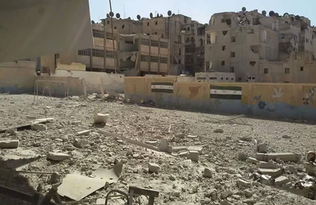 Sobre las ruinas de Siria nace un nuevo orden internacional